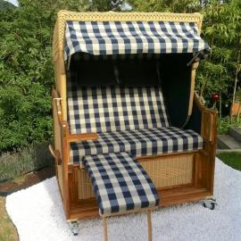 2-Sitzer Strandkorb ohne Bullauge